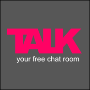 TALK logo dark